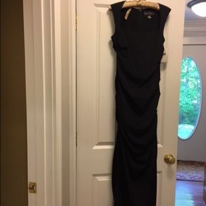 Nicole Miller Full Length Black Gown (w/ tags)